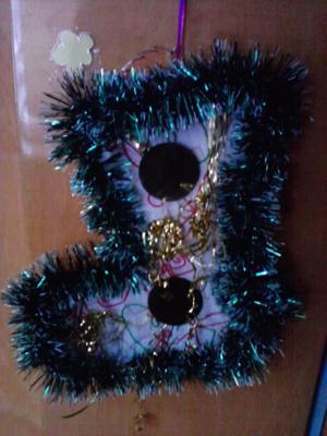 новогодние украшения для елки: сапожок