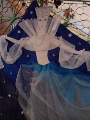 новогодние украшения: снежная королева